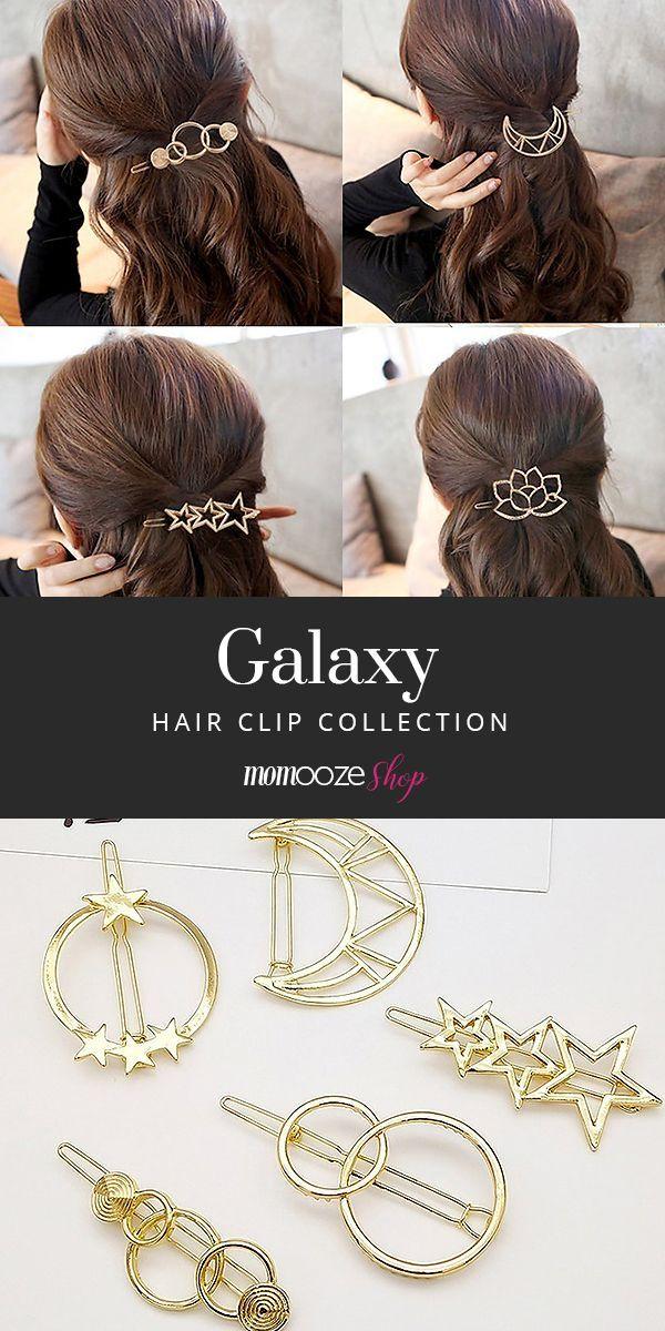 Galaxy Hair Pins
