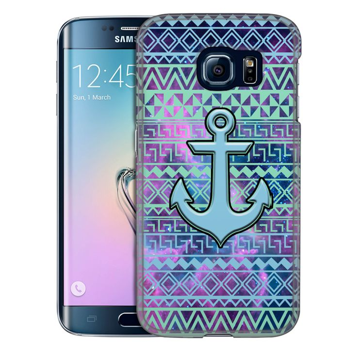 Samsung Galaxy S6 Edge Anchor on Aztec Andes Green ...