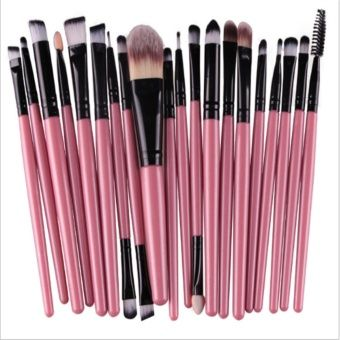 Buy HengSong 20 pcs/set Make Up Brush Set Makeup Brush Set Tools Makeup Toiletry Kit Pink Black online at Lazada. Discount prices and promotional sale on all. Free Shipping.