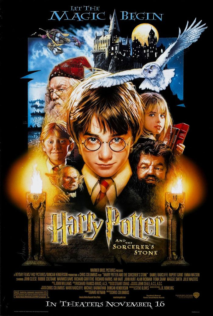 19 Movie Poster Designers Designmantic The Design Shop Harry Potter Movie Night The Sorcerer S Stone Harry Potter Movies