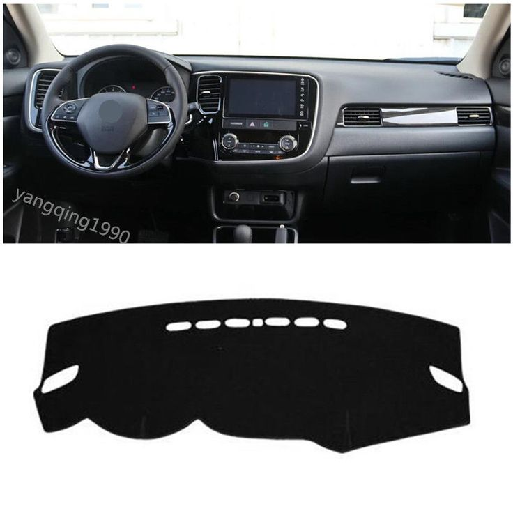 awesome Awesome Dashboard Dash Mat DashMat Sun Cover Pad For Mitsubishi Outlander 2016 2017 2018 2017/2018