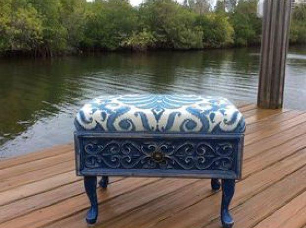 16 fabulous ways to repurpose old dresser drawers - beautiful ottoman
