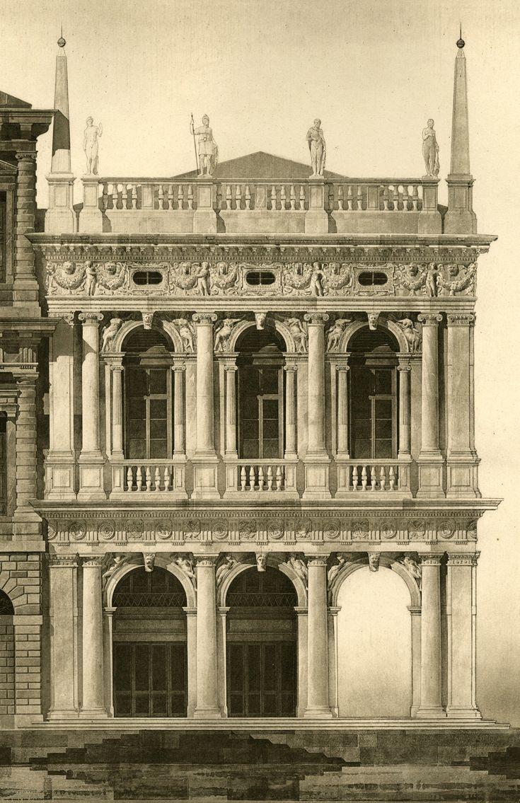 Les 347 meilleures images du tableau renaissance italienne for Architecture italienne