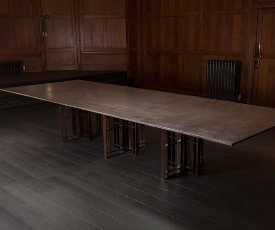 'Sonar' boardroom table by Richy Almond for Novocastrian (UK)