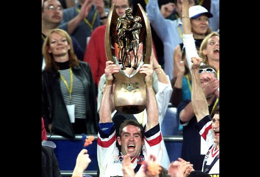 Brad Fittler 2002 Premiers.