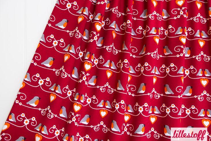 lillestoff » Dicky Bird « // Design: Nähwähna // ausverkauft