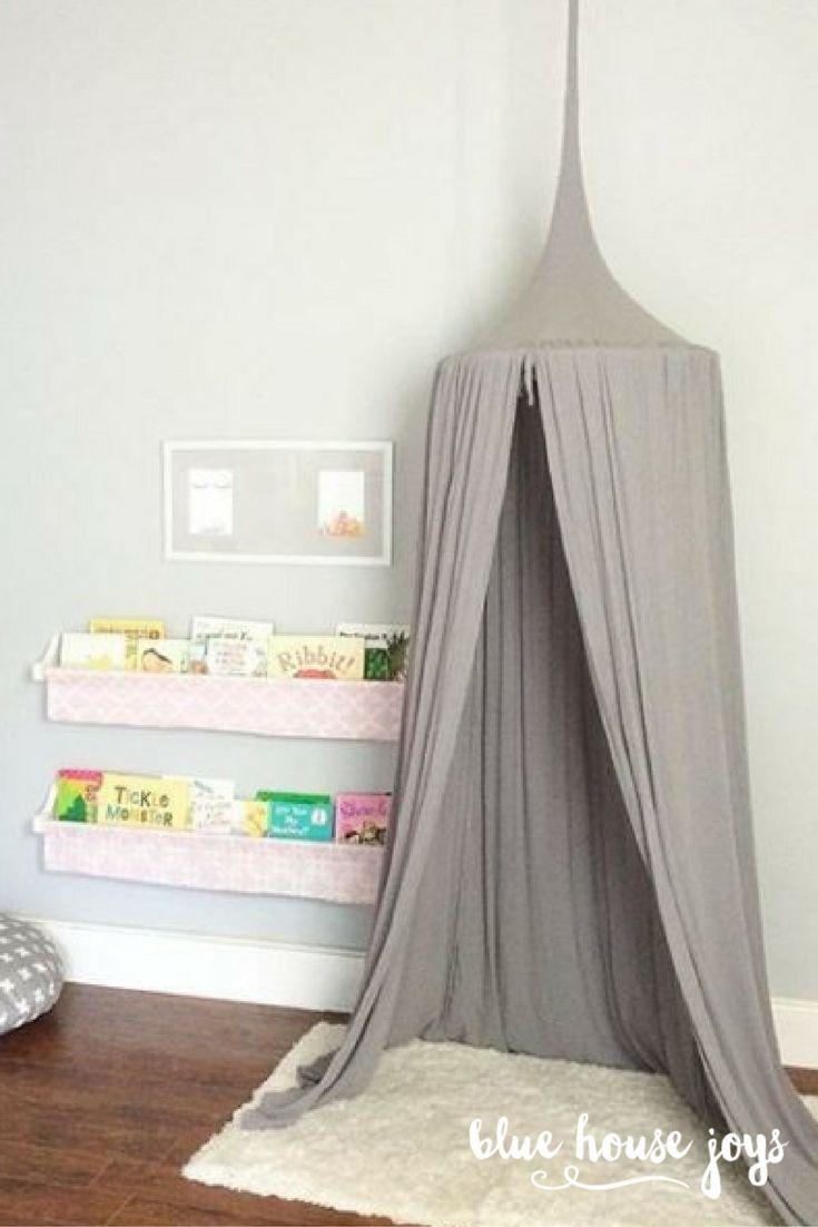 638 best little girls bedrooms images on pinterest for Canopy for kids room