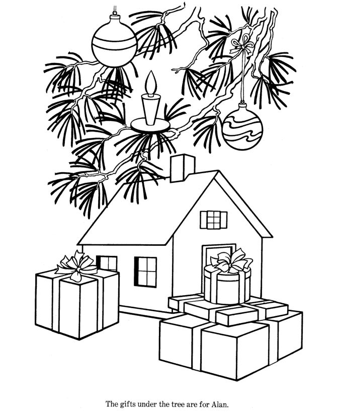 find this pin and more on printable christmas tree coloring pages for kids