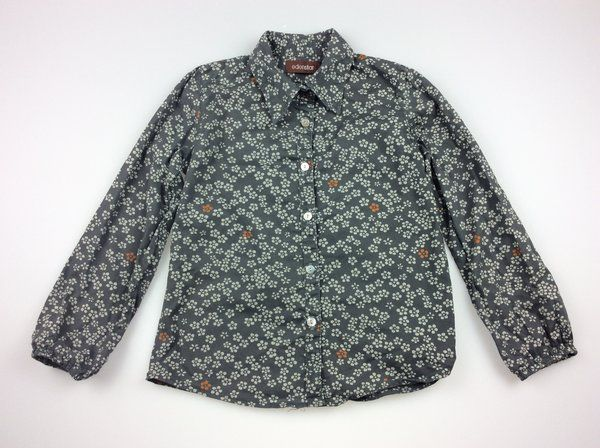 Edenstar, boy's long-sleeved floral print shirt, excellent pre-loved condition (EUC), size 4, $9  #shirts #boysfashion #kidsfashion #secondhandclothes #daisychainclothing