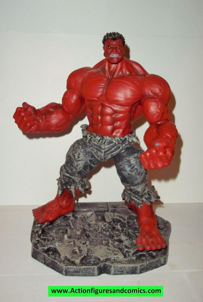 Marvel select red hulk 10 inch marvel legends complete - Pictures of red hulk ...
