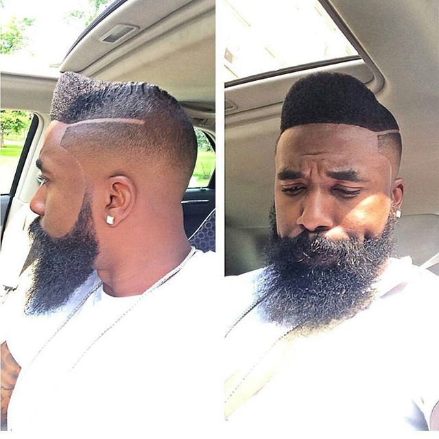 Gentleman faded faux hawk