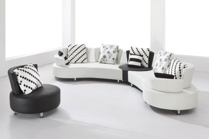 Round Sofa Set Designs