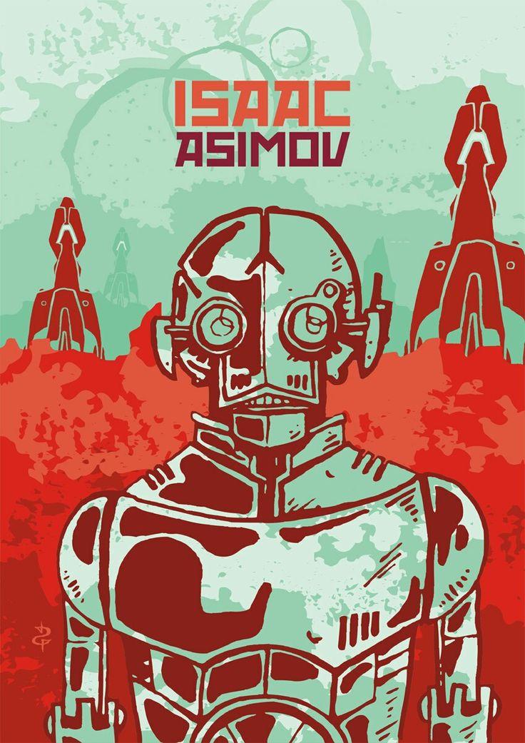 #danielrepelente www.danielgoncalves.art.br #scifi #robot #isaacasimov #asimov #ilustration #ilustracao