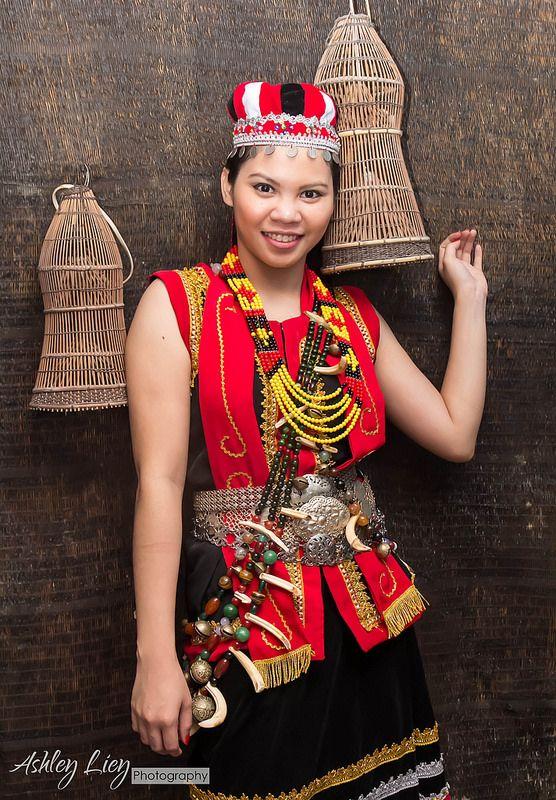 Bidayuh costume Malaysia