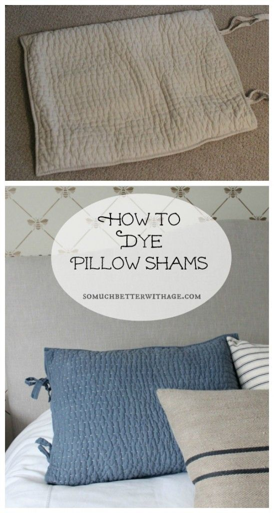 how-to-dye-pillow-shams