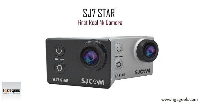 SJCAM has brought their new sport camera named, SJCAM SJ7 STAR Wi-Fi 4K Sports Camera. It's quite good looking with certain awesome features.  gadgets technology