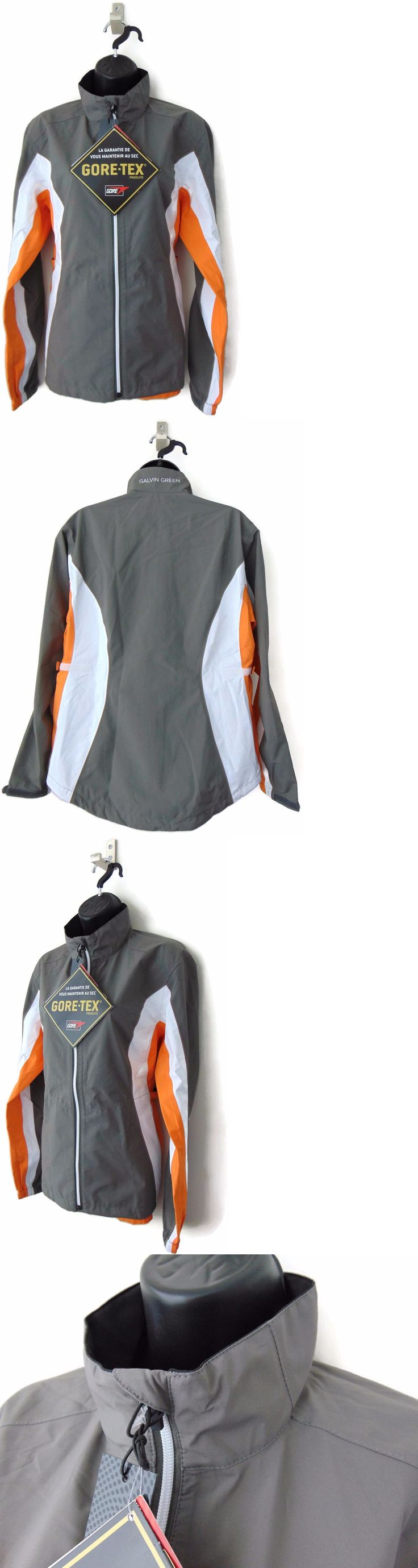 Coats and Jackets 181145: Galvin Green New Women S Small Anya Gore-Tex Waterproof Gray Golf Rain Jacket -> BUY IT NOW ONLY: $189 on eBay!