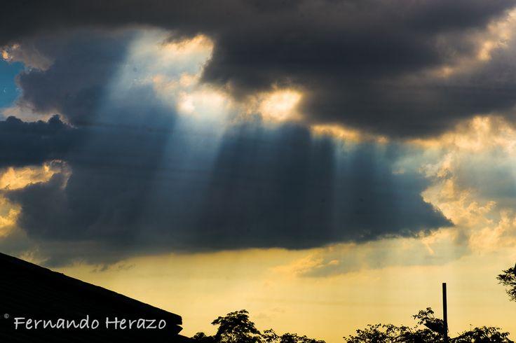 Atardecer en Monteria #Colombia #Monteria
