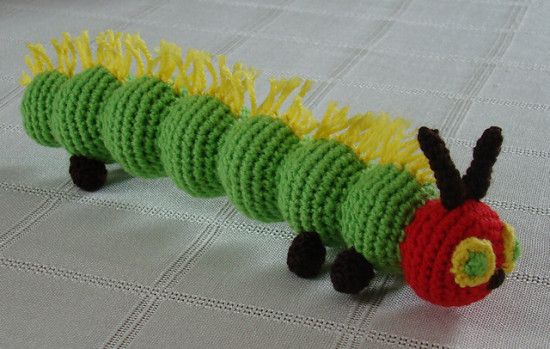 The Very Hungry Caterpillar Crochet Lots Of Patterns | The WHOot