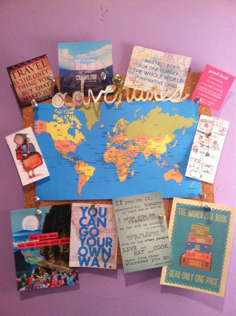 Travel Bulletin Board