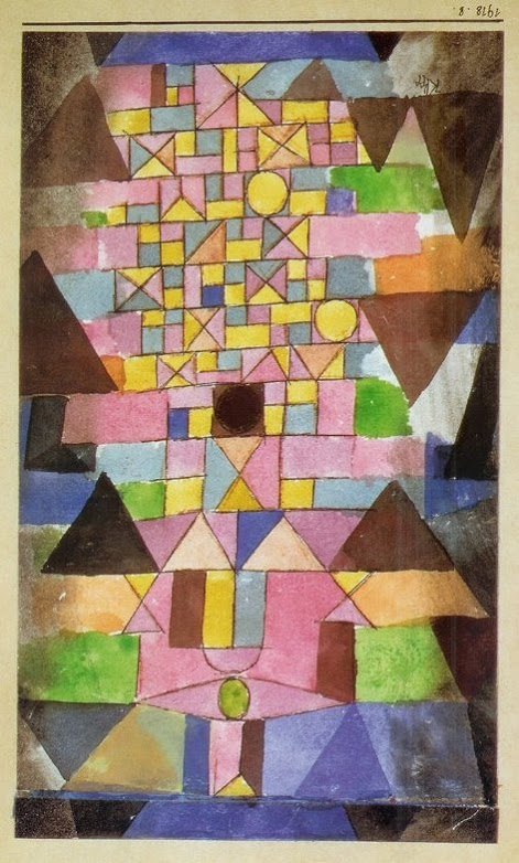Paul Klee - Ecriture Architecturale                                                                                                                                                                                 Plus