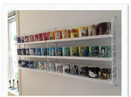 moomin mug showcase