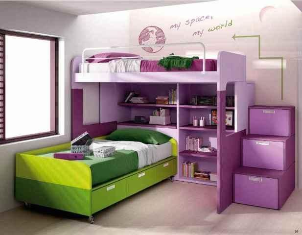 42 best dormitorios juveniles images on pinterest child - Dormitorios pequenos juveniles ...