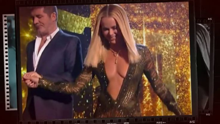 Britains Got Talent judge Amanda Holden : The most complained about dress EVER