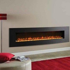 Gazco Radiance 195R Verve XS Inset Electric Fire Graphite
