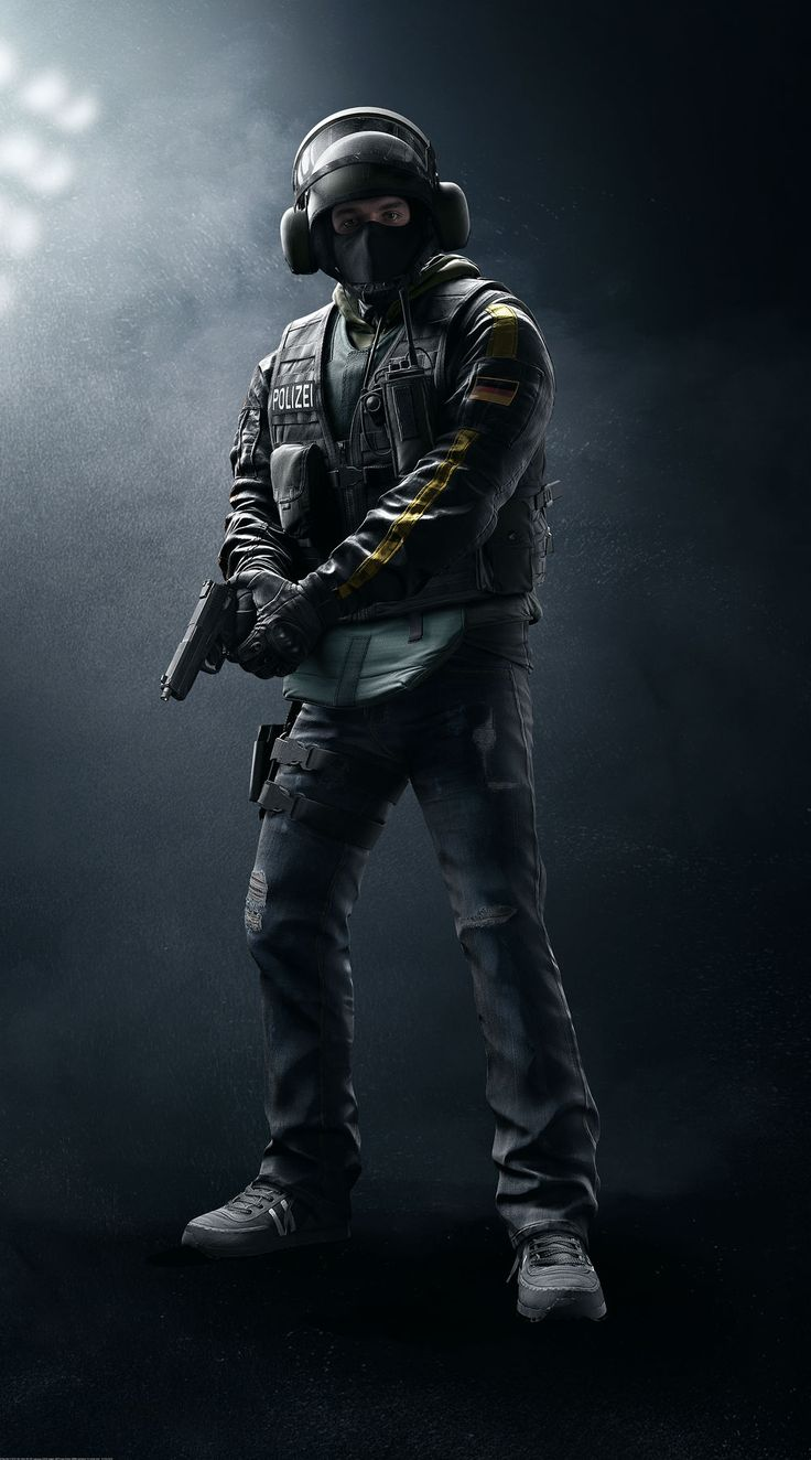"Dominic ""Bandit"" Brunsmeier is a Defending Operator featured in Tom Clancy's Rainbow Six Siege. He features a low armor rating and high mobility. Bandit is capable of deploying the CED-1 Shock Wire which sets an electric charge through metallic objects such as a Reinforced Wall, Deployable Shield, or Barbed Wire, and will damage those who come in contact. Brunsmeier and his twin brother Cedrick joined the Bundesgrenzschutz (BGS) the day after their eighteenth birthday in 1992. S..."