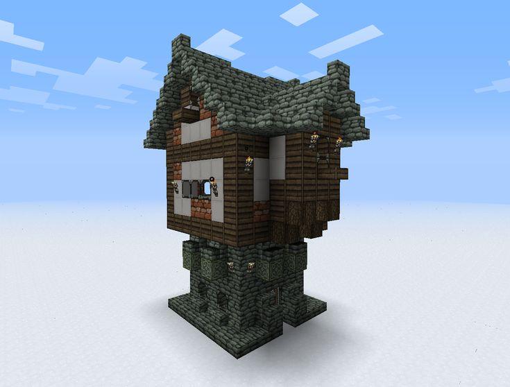 Les 25 meilleures id es de la cat gorie maison m di vale minecraft sur pinter - Idee de maison minecraft ...