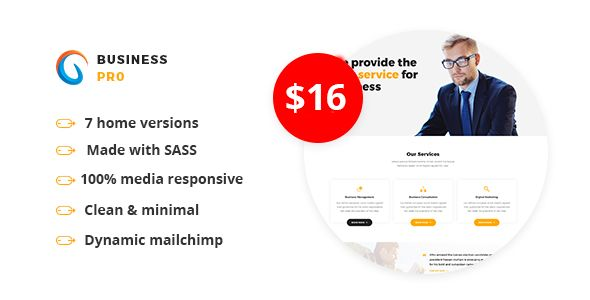 Business Pro - Multipurpose Business HTML Template http://themeforu.com #webdesign #website #design #responsive #besttemplates #template #SiteTemplates #Corporate #Business