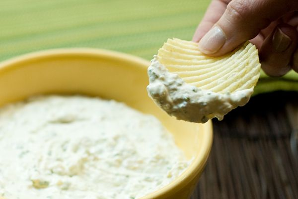 Caramelized Onion Dip #vintage #recipe
