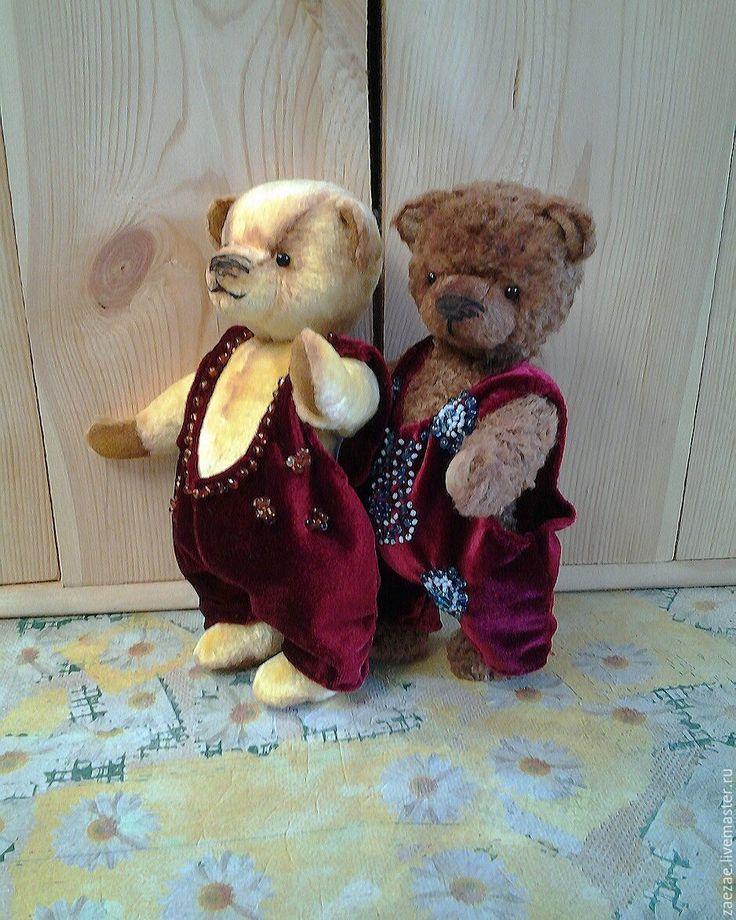 "Купить ""Тимоша"", ""Фрэнк"" мишки тедди - желтый, мишки тедди, подарок, тедди медведи, минитедди"