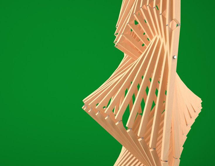 Conception paramétrique Grasshopper - Latéral