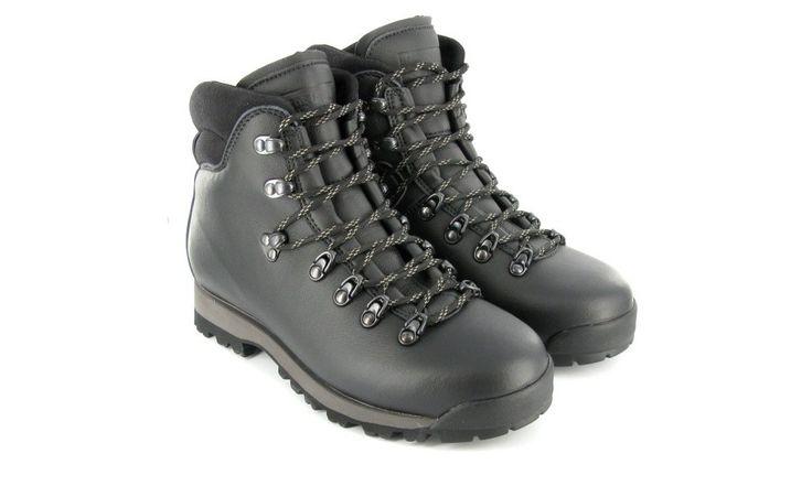 Veganer Wanderschuh - Snowdon Boot Black Größe 39