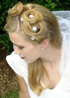 Wedding hairstyles Half up hairstyles