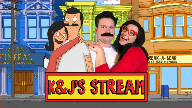 "[Self] Not sure if this belongs here. My gf and I did a Bob's Burgers stream for fun! I hope we don't offend ""true"" cosplayers but we had a lot of fun1 #cosplay http://ift.tt/1EO3Y0Y"