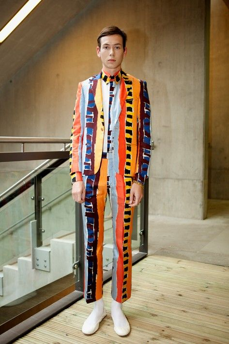 Christopher Shannon on Central Saint Martins BA 2012