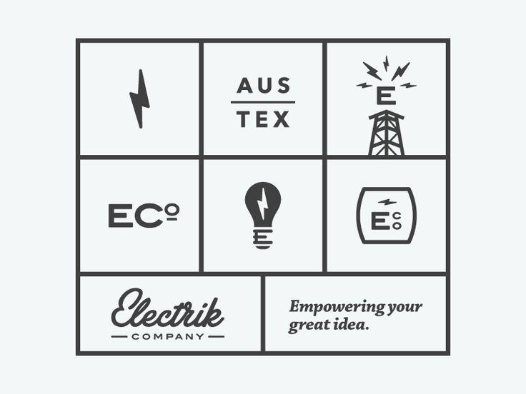 Electrik Co. Brand Buildout by Brendan Pittman for Electrik Company