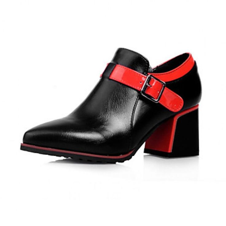 #Women'sShoes Nz Chunky Heel Pointed Toe #Oxfords Dress More Colors available only at NZ$80