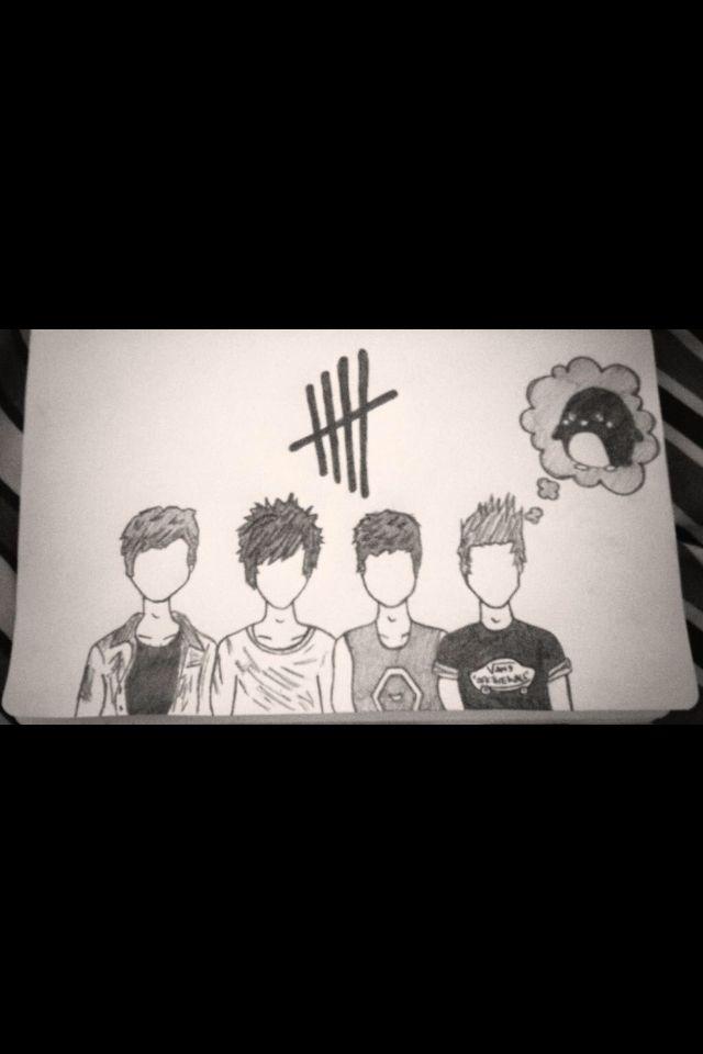 My 5sos fan art :)