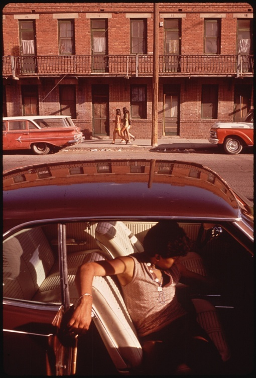 Danny Lyon. Brooklyn. 1972.