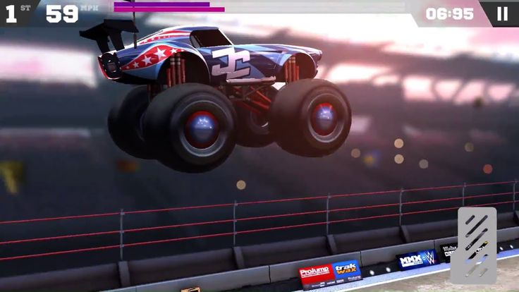 MMX Racing Awesome WWE Trucks | Monster Truck Racing Android and IOS Gam...