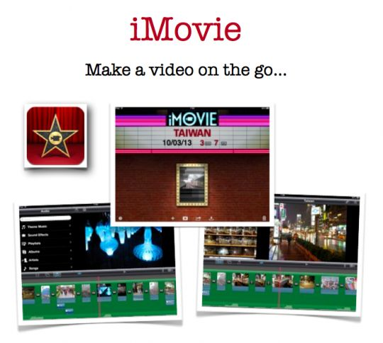 Comprehensive guide to the iMovie app on the iPad for teachers & students | John Larkin