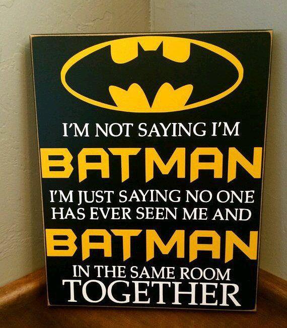 Batman Bathroom Sign: 1000+ Ideas About Batman Sign On Pinterest