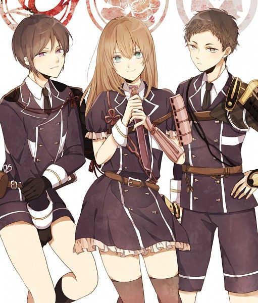 Atsushi Toushirou, Midare Toushirou, Yagen Toushirou