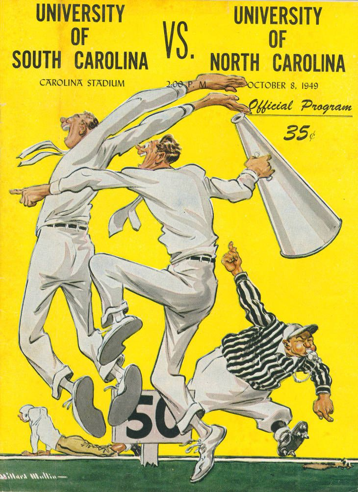 South Carolina vs. North Carolina (1949) in 2020 South
