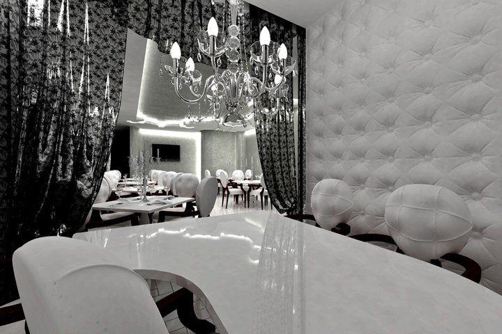 Интерьер ресторана в стиле ар-деко