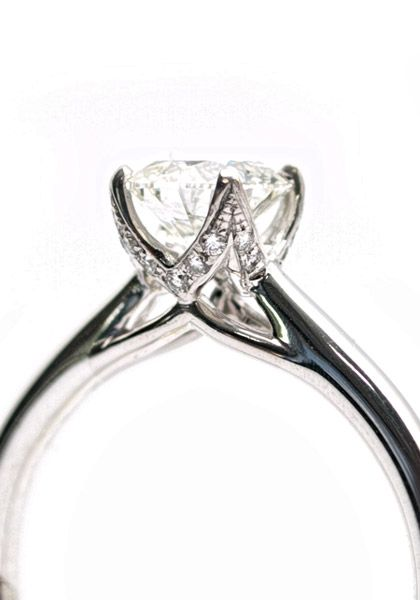 solitaire diamond ring more beautiful diamond engagement rings at